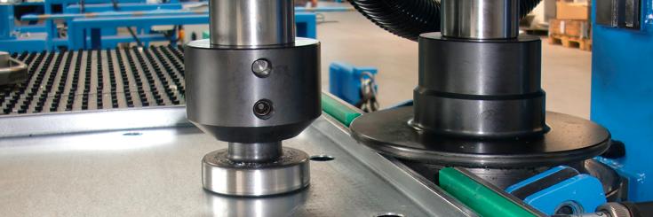 Blechbearbeitungsmaschinen von der Firma Peter Prinzing GmbH